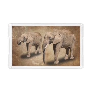 ELEPHANTS ACRYLIC TRAY