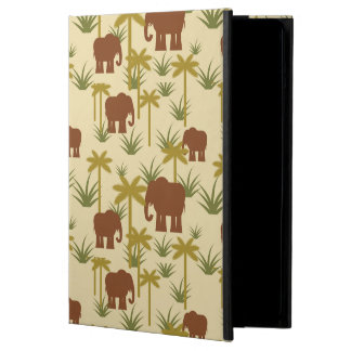 Elephants And Palms In Camouflage Case For iPad Air