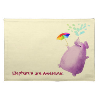 Elephants are Awesome Placemat