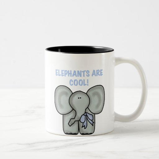 Elephants are cool zazzle for Where to buy cool coffee mugs