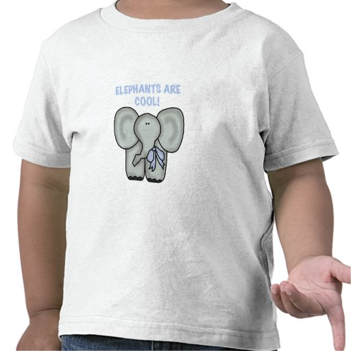 Elephants Are Cool Tees