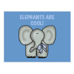 Elephants Are Cool Tshirts and Gifts Post Card