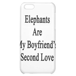 Elephants Are My Boyfriend's Second Love iPhone 5C Case
