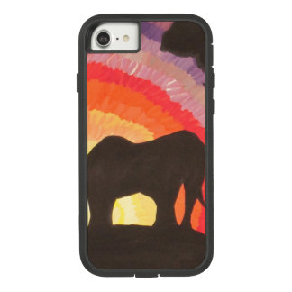Elephants at Sunset (Kimberly Turnbull Art) Case-Mate Tough Extreme iPhone 8/7 Case