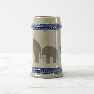 Elephants Beer Steins
