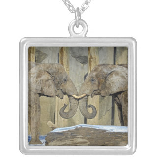 Elephants Best Friends Necklace