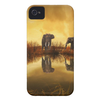 Elephants Case-Mate iPhone 4 Cases