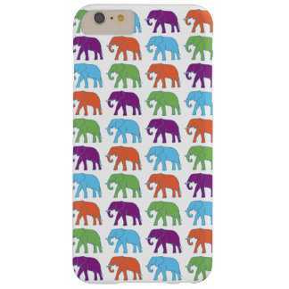 Elephants colored texture marries barely there iPhone 6 plus case