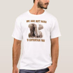 Elephants Deserve Respect T-Shirt