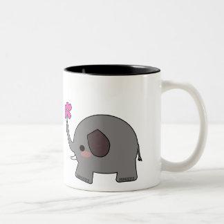 Elephants in Love Mug