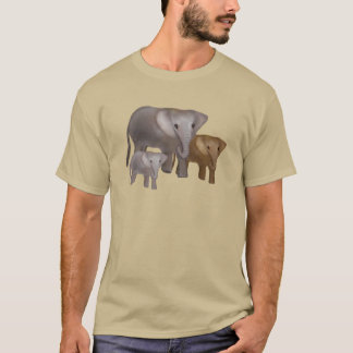 Elephants in the Wild T-Shirts