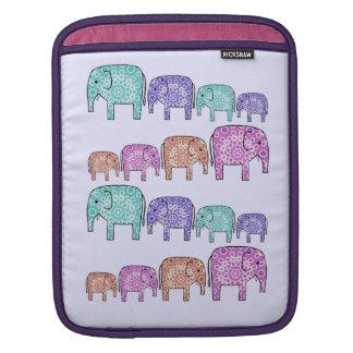 Elephants iPad Sleeve
