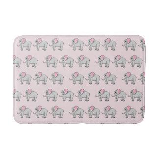 Elephants Medium Bath Mat