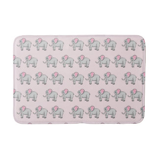 Elephants Medium Bath Mat Bath Mats