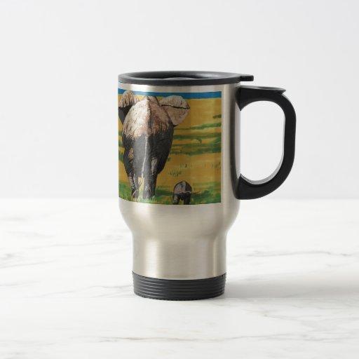 Elephants Coffee Mugs