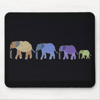 Elephants Never Forget Mouse Mat