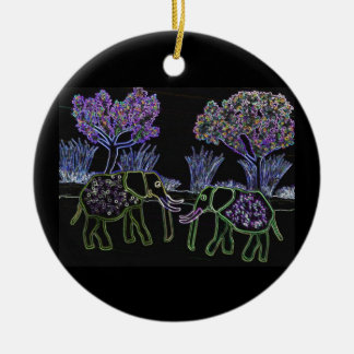 Elephants Never Forget Ornaments