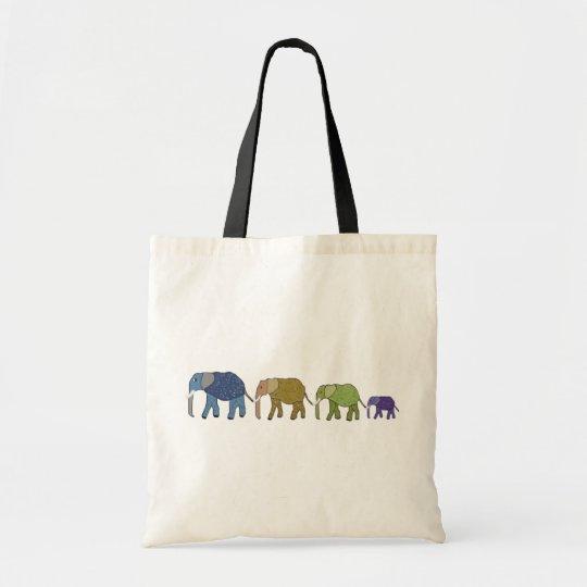 Elephants Never Forget Tote Bag