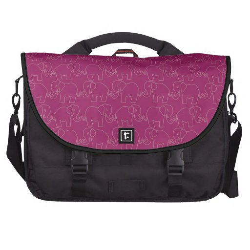 Elephants on Parade Pattern Bag Commuter Bags