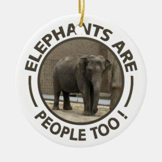 ELEPHANTS ornament - customize