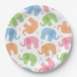 Elephants Paper Plates 9 Inch Paper Plate