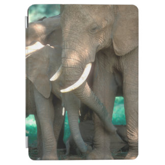 Elephants Protecting Young iPad Air Cover