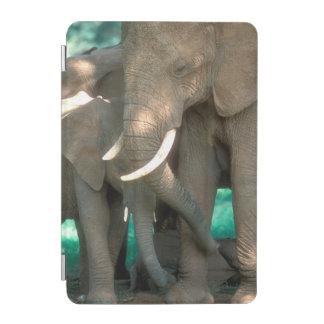 Elephants Protecting Young iPad Mini Cover