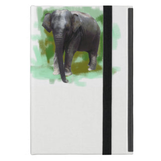 Elephants Protection Cute Painted Baby Elephant iPad Mini Case