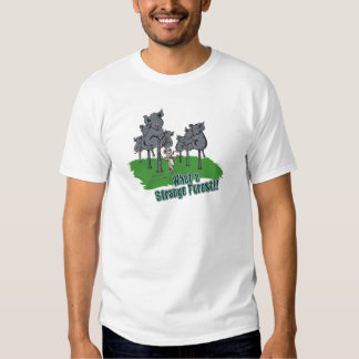 elephants scared of mouse funny forest vector cart t shirt
