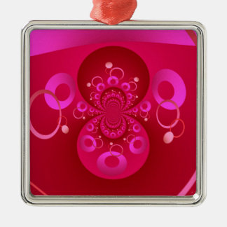 Elepisis in pink christmas ornament