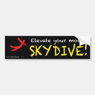 Elevate your mood. SKYDIVE! Bumper Sticker