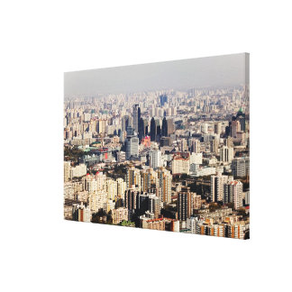 Elevated Beijing Cityscape Canvas Prints