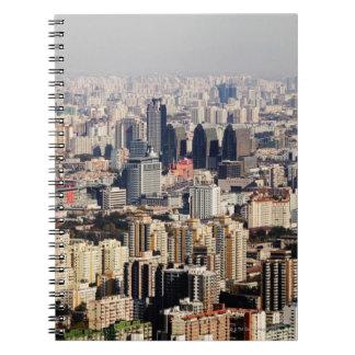Elevated Beijing Cityscape Notebooks