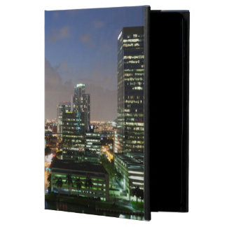 Elevated city skyline cover for iPad air