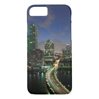 Elevated city skyline iPhone 8/7 case