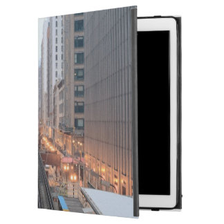 "Elevated rail in downtown Chicago over Wabash iPad Pro 12.9"" Case"