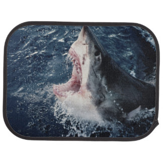 Elevated Shark mouth open Car Mat