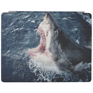 Elevated Shark mouth open iPad Cover