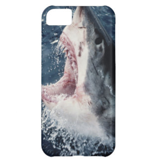 Elevated Shark mouth open iPhone 5C Case