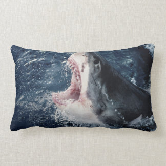 Elevated Shark mouth open Lumbar Cushion