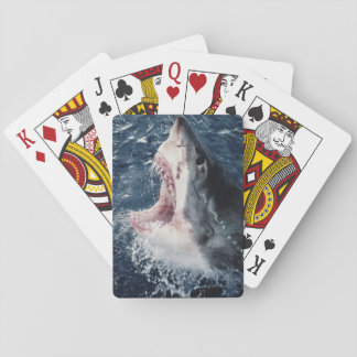 Elevated Shark mouth open Playing Cards