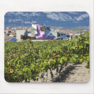 Elevated town view and Hotel Marques de Riscal Mouse Mat