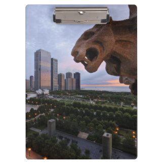 Elevated View of Milennium Park Clipboard
