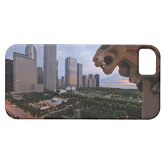 Elevated View of Milennium Park iPhone 5 Cover