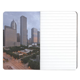 Elevated View of Milennium Park Journal