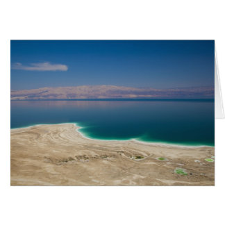 Elevated view of the Dead Sea Card