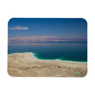 Elevated view of the Dead Sea Rectangular Photo Magnet