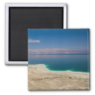 Elevated view of the Dead Sea Square Magnet
