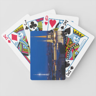Elevated view of the Television Tower Deck Of Cards