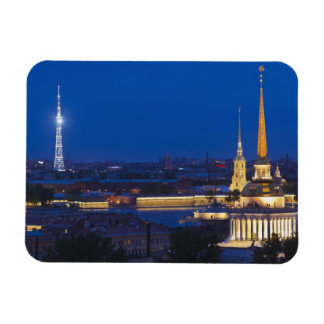 Elevated view of the Television Tower Vinyl Magnets